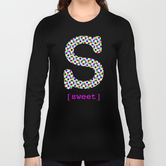 #S [sweet] Long Sleeve T-shirt