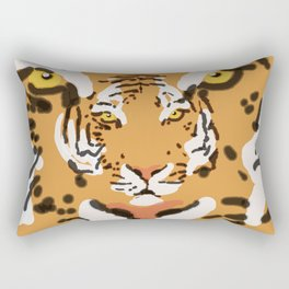 2Tigers Rectangular Pillow