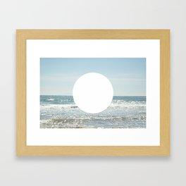 Not even the sun, Not even the moon ( - space ) Framed Art Print