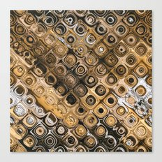Brown And Tan Abstract Canvas Print
