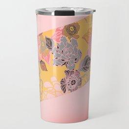 Jungle Blossoms Travel Mug