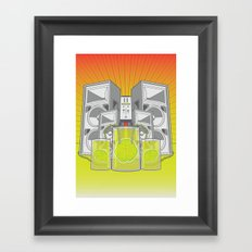 Music from the Mind Framed Art Print