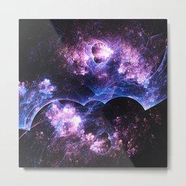 Grunged Space Metal Print