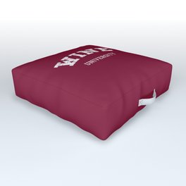 Wine University Outdoor Floor Cushion