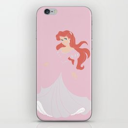 Mermaid  Princess iPhone Skin