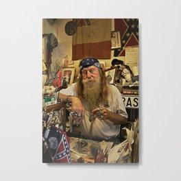 Wildman. Metal Print
