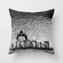 Stone & Despair Throw Pillow