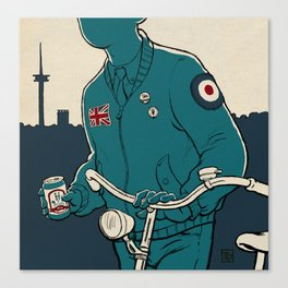 On yer bike : Fahrradmod Cover Canvas Print
