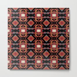 Aesthetics: ethnic pattern Metal Print