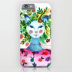 Miss Lady Cat iPhone 6s Slim Case