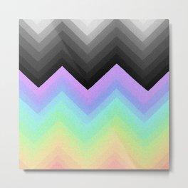 Rainbow Break Metal Print