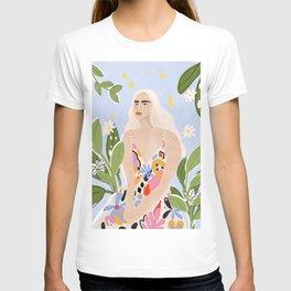 Abstract dress T-shirt