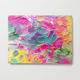 Neon Dreams Metal Print
