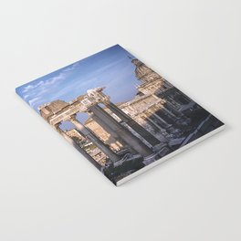 Roman Ruins - Vintage photography Notebook