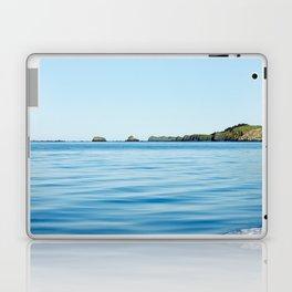 Island on the Horizon Photography Print Laptop & iPad Skin