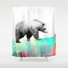 Wild No. 1 // Bear Shower Curtain