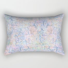 She Talks to Rainbows // Unicorn color dusted rock Rectangular Pillow