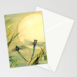 Dragonfly Moon  Stationery Cards
