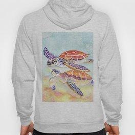 Swimming Together - Sea Turtle Hoody