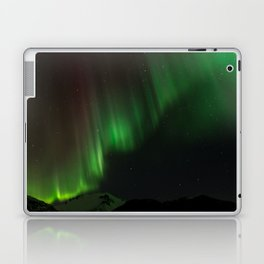 Northern Lights in Norway 02 Laptop & iPad Skin