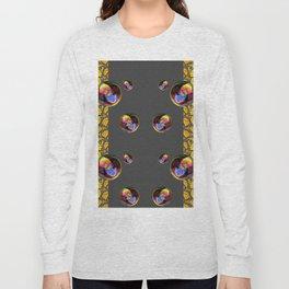 SURREAL IRIDESCENT SOAP BUBBLES & BUTTERFLIES Long Sleeve T-shirt
