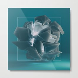 Fragmented vision Metal Print