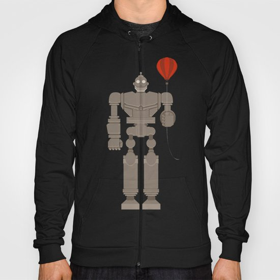 The Robot and The Balloon Hoody