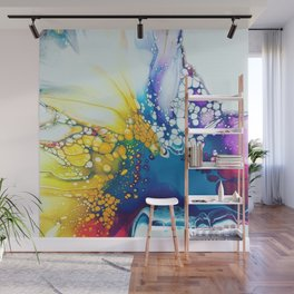 Color Explosion Wall Mural
