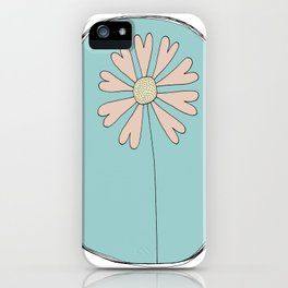 Flowers Have Hearts iPhone Case