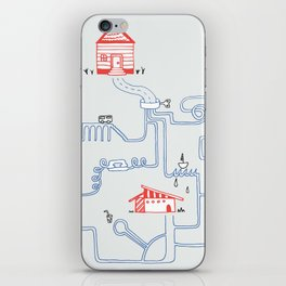 All Roads Lead to Your House iPhone Skin