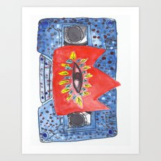Cassette from the Stars Art Print