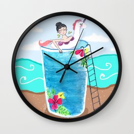 Summer Time! Wall Clock
