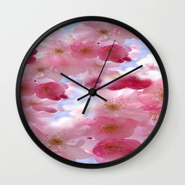 Floral Heaven Wall Clock