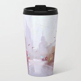 Morning city Travel Mug
