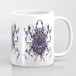 Rainbow scarab Coffee Mug
