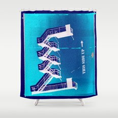 Stairs Up Shower Curtain