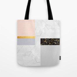 Gold Modern Art XIX Tote Bag