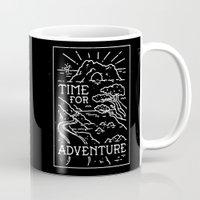 TIME FOR ADVENTURE (BW) Mug