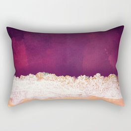 Maroon Ocean Rectangular Pillow