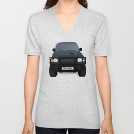 Off - Road Truck Unisex V-Neck