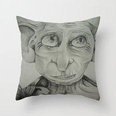 Free Elf Throw Pillow