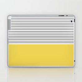 MINIMAL Green Stripes Laptop & iPad Skin