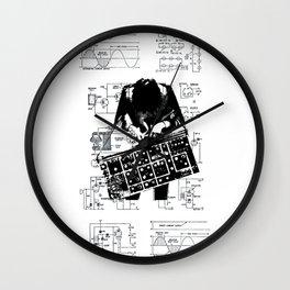 Synth Wall Clock