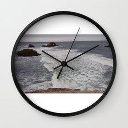 Waves don't die Wall Clock