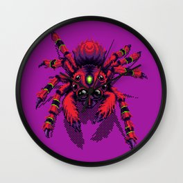 Itsy Pixy Spider Wall Clock
