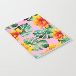 Tropical Monstera Bloom Notebook
