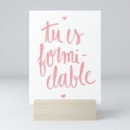 formidable Mini Art Print