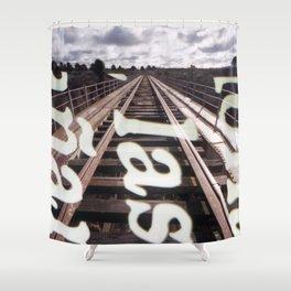 Iron Bridge Shower Curtain