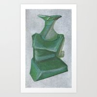 greendress Art Print