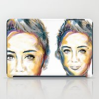 miley cyrus iPad Cases featuring Miley Cyrus by caffeboy